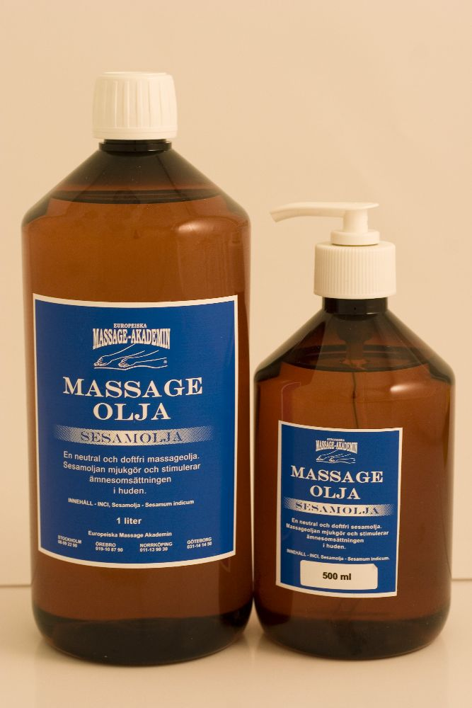 Eko. Massageolja 500 ml